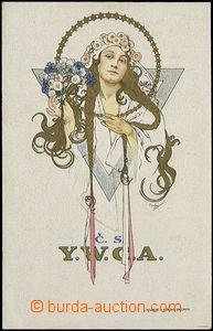 50226 - 1925 MUCHA Alfons (1860–1939), ČS. Y.W.C.A. (Weill.159); pro
