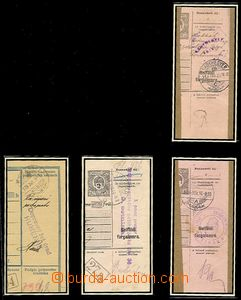50350 - 1919-20 CZECHOSLOVAKIA 1918-39,  collection cuts post. dispa
