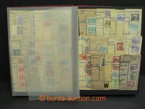 50353 - 1919-20 ČSR I.  sestava 192ks ústřižků pošt. průvodek