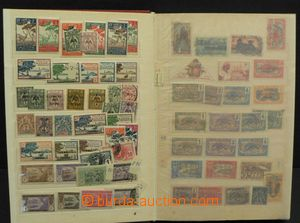 50354 - 1920-40 FRENCH COLONIES  comp. of stamps in medium big 10-sh