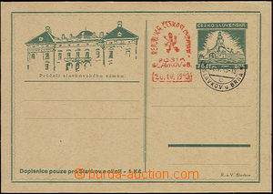50363 - 1945 PC for Slavkov and surroundings, dark green  print, bro