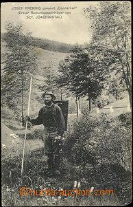 50391 - 1912 Jáchymov - Josef Prennig, první nosič radioaktivní vody