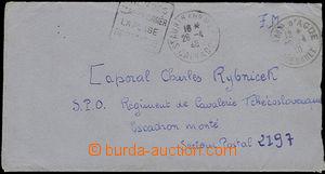 50472 - 1940 dopis adresovaný čsl. vojákovi u kavalerie, DR St. A