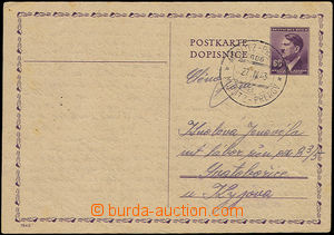 50512 - 1943 I.C. SVATOBOŘICE /K.  PC CDV16 addressed to to internm