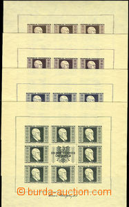 50561 - 1946 Mi.Klb. 772-775, miniature-sheets Renner, all luxury, c