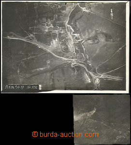 50567 - 1915-17 2 pcs of photos country pořízené from aircrafts,