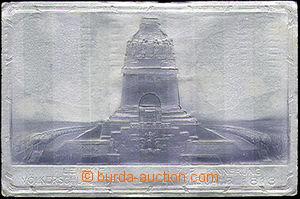 50617 - 1913 Leipzig, pomník na památku roku 1813, stříbrná met