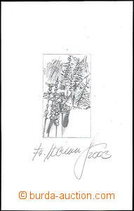 50728 - 2003 zkusmý tisk s podpisem rytce Fr. Horniaka