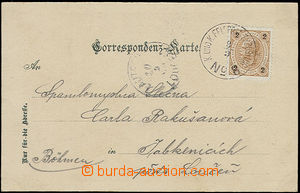 50792 - 1899 postcard Oberdrauburgu with 2 Kreuzer, sent from milita