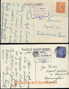 50815 - 1942 2ks pohlednic adresovaných na příslušníka čs. voj