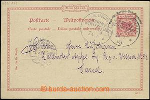 50835 - 1898 německá dopisnice 10Pf Reichspost, Mi.P25, nad vytiš