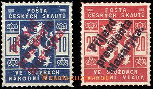 50836 - 1918 FALZA  falza známek ke škodě sběratelů, Příjezd