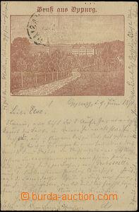 50844 - 1894 Oppurg - předběžná pohlednice; DA, prošlá, DR Unt