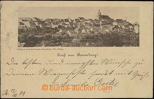 50845 - 1889 Ronneburg - celkový pohled; DA, prošlá, DR Ronneburg