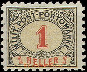 50859 - 1904 Porto Mi.1, perforation 9¼