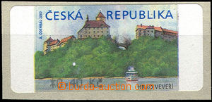 50949 - 2000 Pof.AT1  Veveří (castle), value *0,40Kč, coincidenta