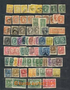 51013 - 1870-1945 CANADA  malá sestava ražených zn., obsahuje nap
