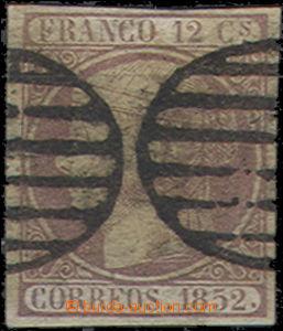 51056 - 1852 Mi.13, těžší razítko, kat. 110€