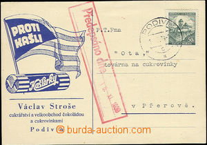 51146 - 1939 commercial PC with blue additional-printing advertising