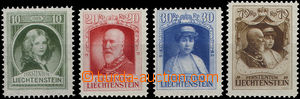 51216 - 1929 Mi.90-93 Princely Family, fresh, catalogue  80€