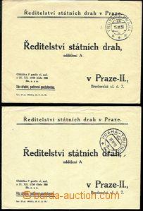 51240 - 1939 2ks odpovědních dopisů Ředitelství státních drah