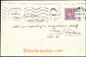 51267 - 1939 letter sent in the place, sent First Day Protectorate B