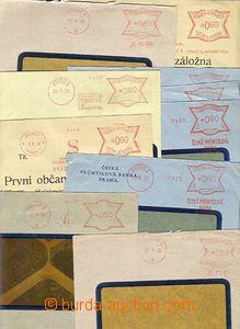 51301 - 1939-40 sestava 10ks dopisů s frankotypy APB, České prům