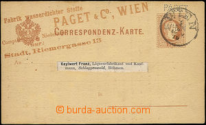 51313 - 1879 PC 2 Kreuzer Mi.P25 with commercial additional-printing