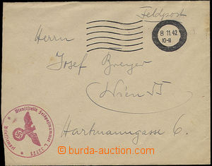 51335 - 1942 FRANCE  letter sent by FP from Paris to Vienna, MC with