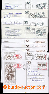 51341 - 1994-98 comp. 9 pcs of forgeries to defraud the post, 4 vari