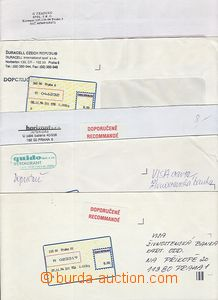 51347 - 1994 comp. 6 pcs of letters with labels T I. various Prague