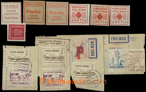 51386 - 1954 ČSR II. / CVIČNÉ ZNÁMKY  sestava 7ks cvičných zn�