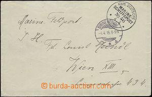 51411 - 1915 KAIS. DEUTSCHE (German) MARINE SCHIFFPOST No.46 (SMS Pr