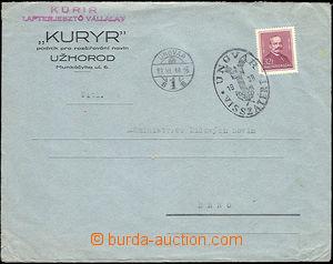 51418 - 1938 firemní dopis adresovaný do Protektorátu vyfr. zn. 3