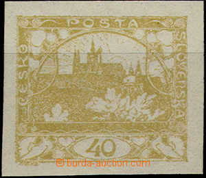 51481 - 1920 Pof.170N without added print, plate variety 40/1 flag o