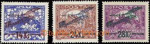 51486 - 1920 Pof.L1A, L2A II. type, L3B, expertised by Mrnak, Kozak,