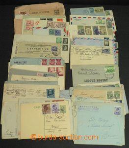 51496 - 1936-47 WW  sestava více jak 50ks různých dopisů adresov