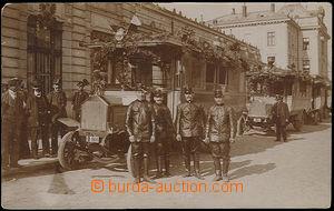 51522 - 1908 Pardubice - slavnostní přehlídka městských autobus