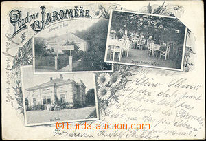 51527 - 1901 Jaroměř - 3-views, open-air restaurant On Špici, vil