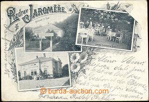 51527 - 1901 Jaroměř - 3-okénková, zahradní restaurace Na Špici, vil