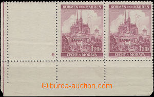 51552 - 1939 Pof.32, corner Pr with coupon, with tajnosnubnou mark i