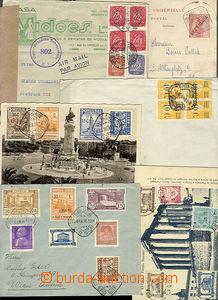 51660 - 1911-48 sestava 6ks různých celistvostí, 3x dopis, 2x poh