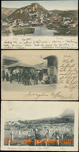 51717 - 1897-00 Bosnia, 3 pcs of Ppc, 2x monochrome from Mostar, caf