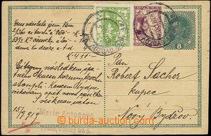 51799 - 1919 CPŘ3, 8h Karel dofr. spěšnou zn. 2h, Pof.S1 a Hradč