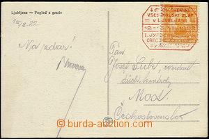 51822 - 1922 I. jihoslovanský všesokolský slet v Ljublani/ 12. - 15.
