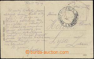 51851 - 1919 velké kruhové raz. 21. československý střelecký p
