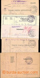 51871 - 1915-17 comp. 5 pcs of FP cards with postmarks FP 69, 396b,