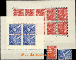 51906 - 1942 Mi.402-403, Mi.Bl.1-2,catalogue 260€
