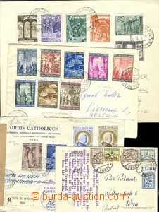 51954 - 1932-51 4 pieces of entires sent to Vienna, 1x registered ai