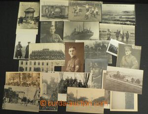 52024 - 1918-20 Russian legion, selection of 25 pcs of Ppc from esta